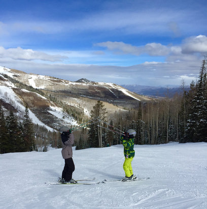 Deer Valley Resort - Great conditions up at the top!