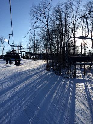 Peek'n Peak - Packed Powder; really good snow; good trails; fun time - ©Anonymous