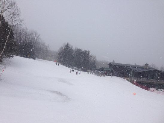 Belleayre - Great day to start my weekend. It was snowing!