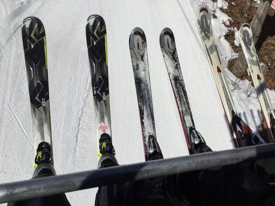 Peek'n Peak - Firsthand Ski Report - ©John's iPhone