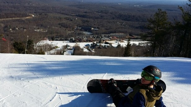 Camelback Mountain Resort - went for the day Sunday. conditions were great and no lines! Always love Camelback!