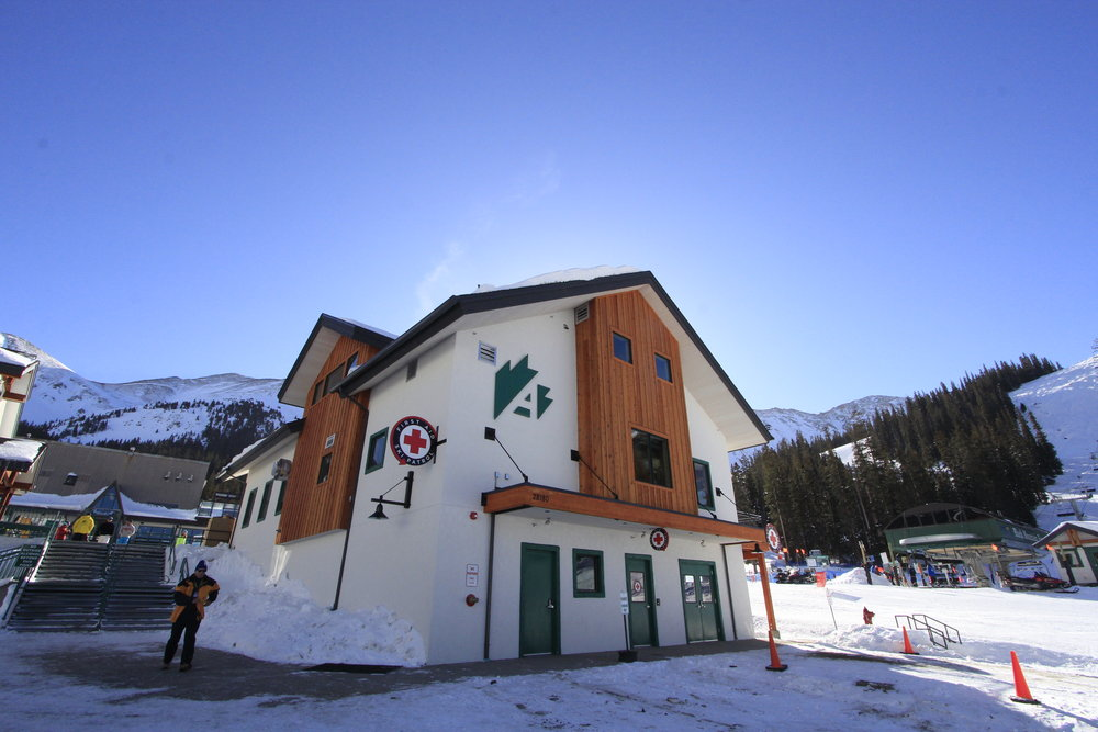 The new Kids Center at the base of A-Basin. - ©Bill Linfield/Arapahoe Basin