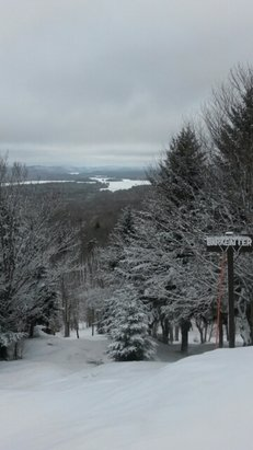 McCauley Mountain Ski Center - Second to last day, 10$ lift tix - tomorrow too, 2 or 3