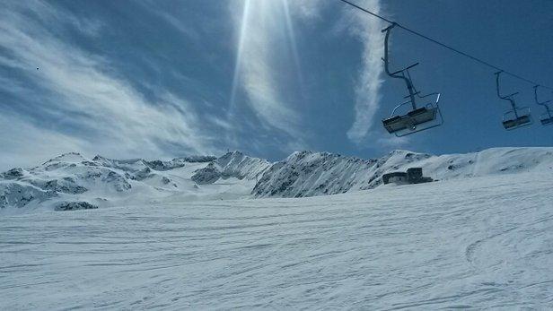 Skiarena Andermatt-Sedrun - Last skiing of the season