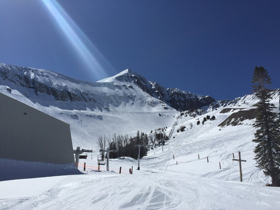 Big Sky Resort - Fantastic day! Huge sunshine, early power! Doesn't get much better than today.