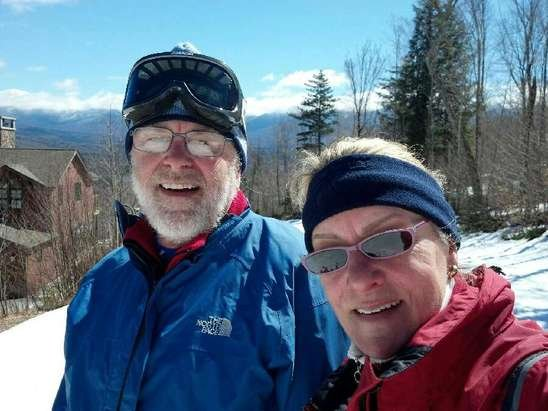 Bretton Woods - WONDERFUL spring skiing!! Skied across to Waumbec most of the day-beautiful!!!!! Barbeque on the deck with beer and lots of new friends-Thank you BrettonWoods!!!!!!!!