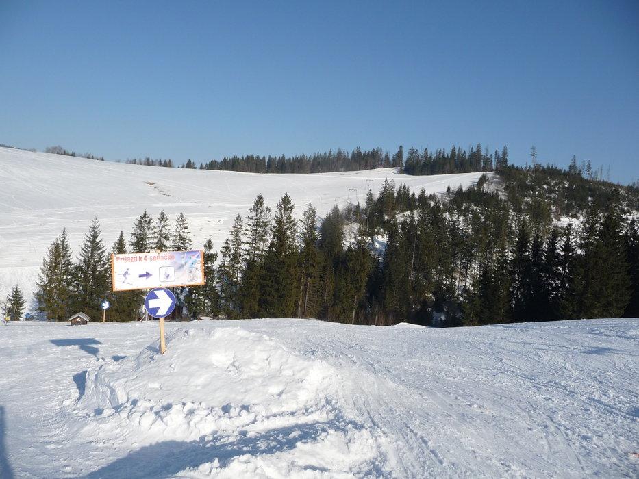 Ski resort Ždiar - Strednica, High Tatras