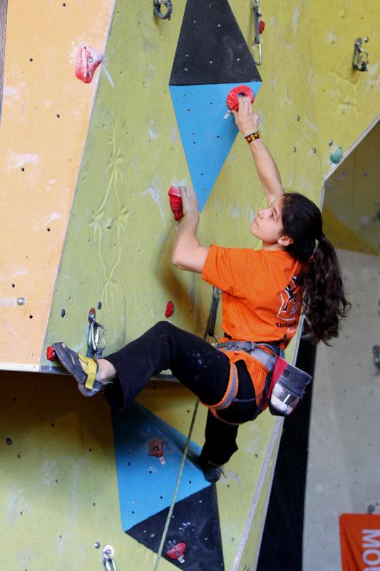 Großartige Vorstellung beim DLC in Ingolstadt: Ana Tiripa wurde Zweite - ©bergleben.de