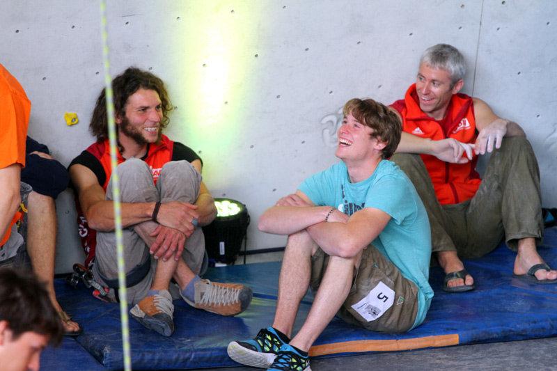 Gute Laune bei Dirk Uhlig, Christian Bindhammer und Matze Conrad - ©bergleben.de