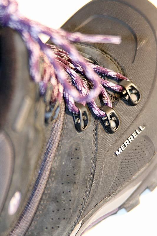 Merrel Whiteout 8 Waterproof: Gut verarbeitet - ©bergleben.de