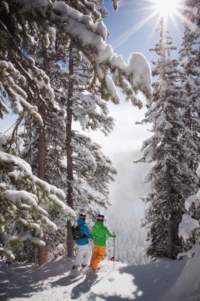 The #1 North American ski resort on a powder day. - ©Cody Downard