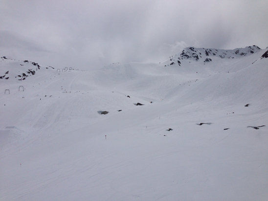 Whistler/Blackcomb - Still decent conditions
