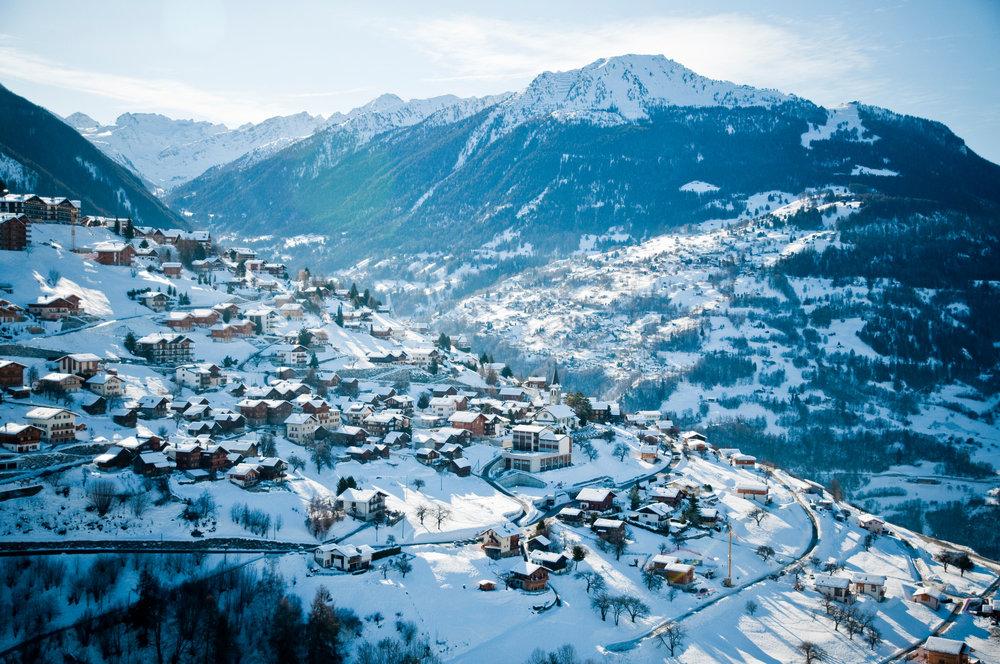 Veysonnaz ski resort - ©lafouinographe.com