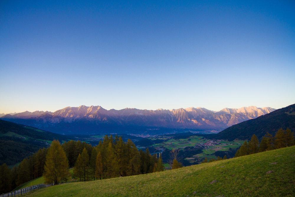 Traumhaftes Panorama bei Innsbruck - ©Innsbruck Tourismus