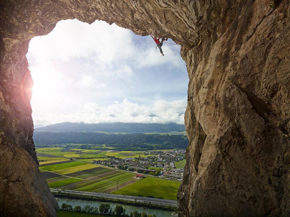 Klettern am Ehnbachklamm - ©Innsbruck Tourismus