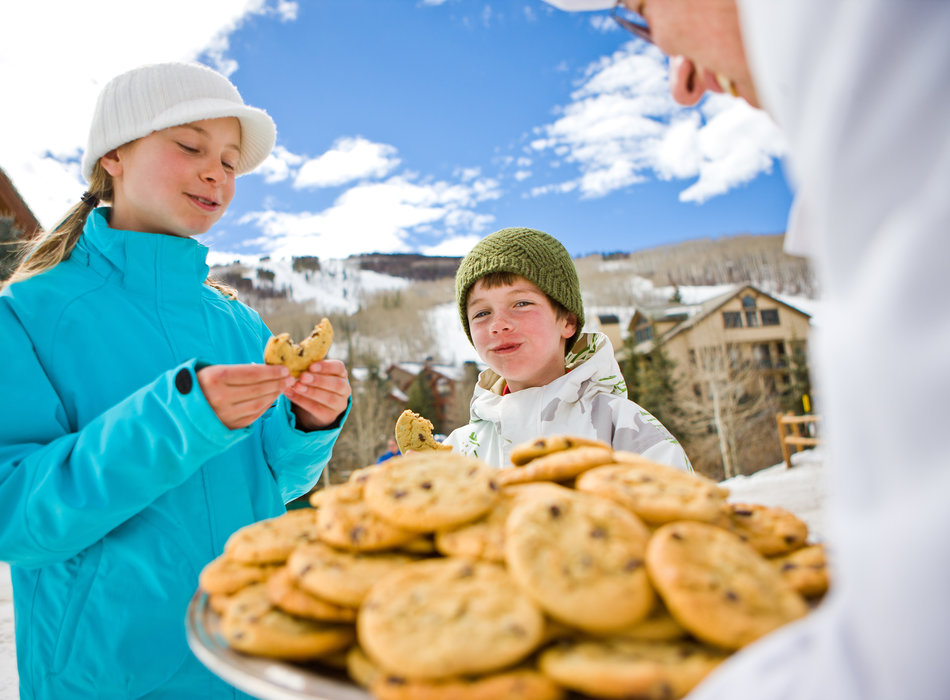 Among everybody's favorite aspects of Beaver Creek? Cookie time! - ©Jack Affleck