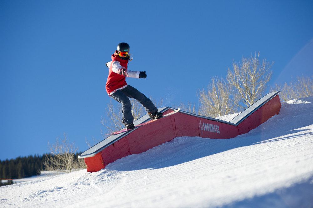 Aspen Snowmass takes the VCA for Best Ski Resort Park & Pipe in 2015. - ©Scott Markewitz Photography, Inc.