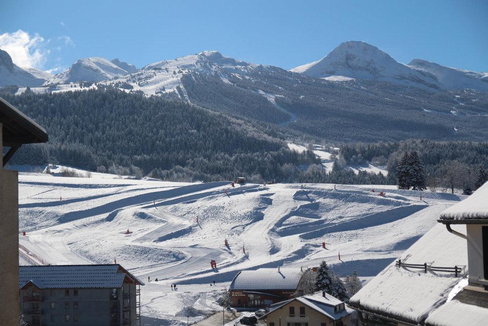Villard de lans corren on en vercors photos espace d butant de villard de lans skiinfo - Office de tourisme villard de lans ...