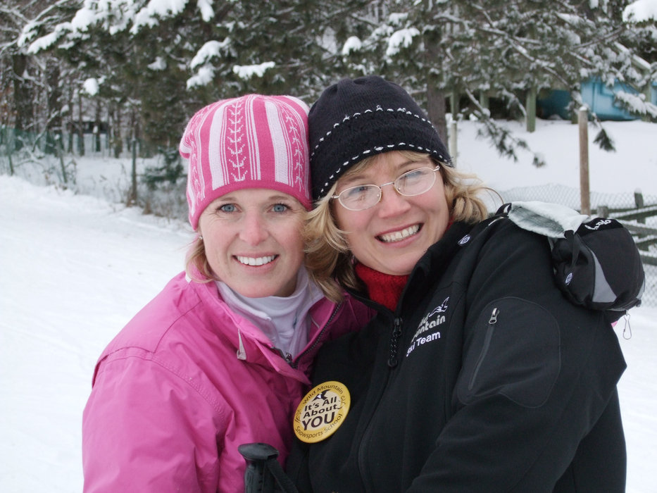 A pair of women visiting Wild Mountain, MN
