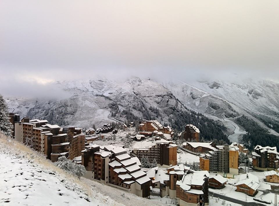 First snow in Avoriaz 23.09.2015 - ©Facebook Avoriaz
