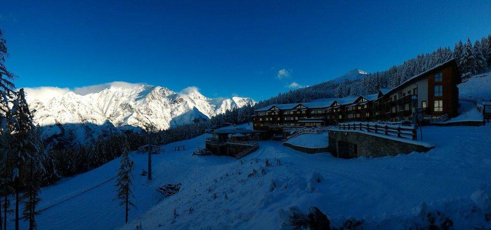 Bardonecchia, neve fresca 29.10.15 - ©Facebook