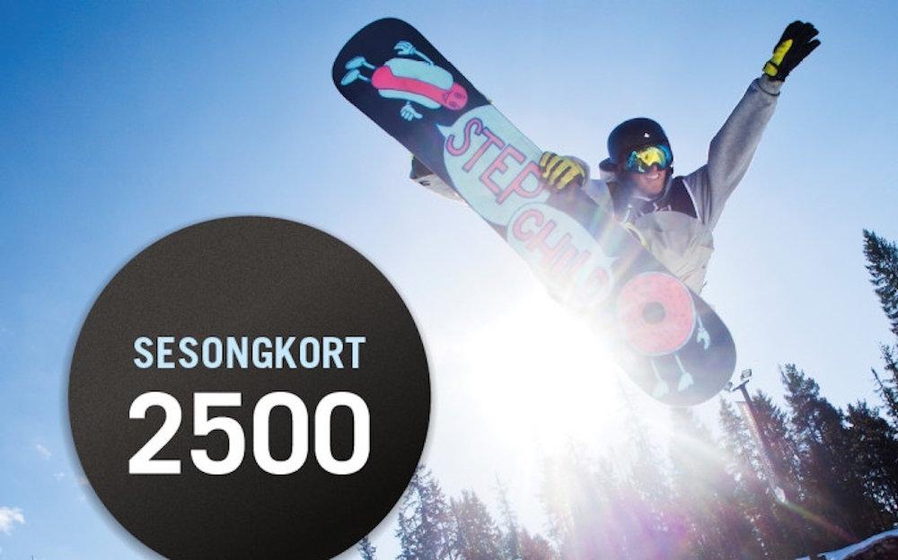Kjører han mye på ski? Kjøp et sesongkort da vel! - ©http://www.oslovinterpark.no/
