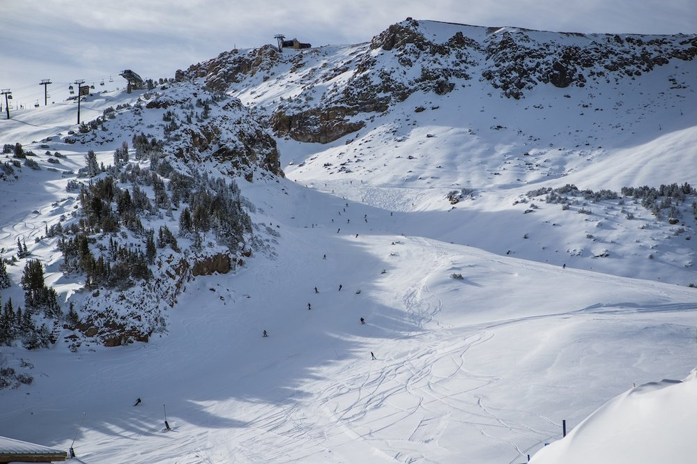 Mammoth looking good after a 30 inch dump - ©Peter Morning/MMSA