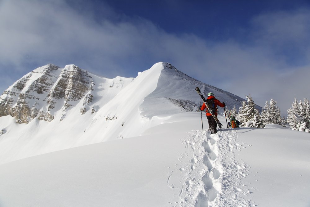 Backcountry skiing in the Tetons surrounding Jackson Hole Mountain Resort. - ©Jackson Hole Mountain Resort