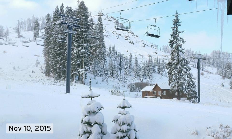 Sugar Bowl living up to its name this November. - ©Sugar Bowl Ski Resort