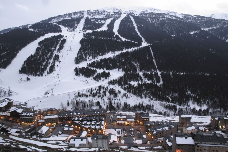 An aerial view of Grandvalira in Andorra
