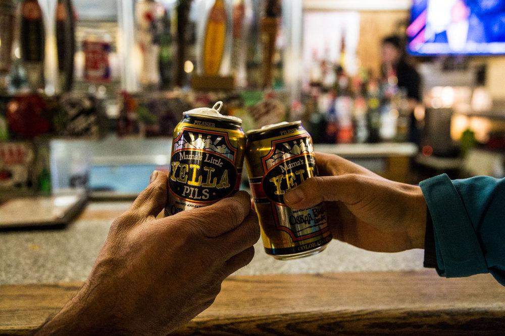 Cheers to Loveland's legit locals vibe. - ©Liam Doran