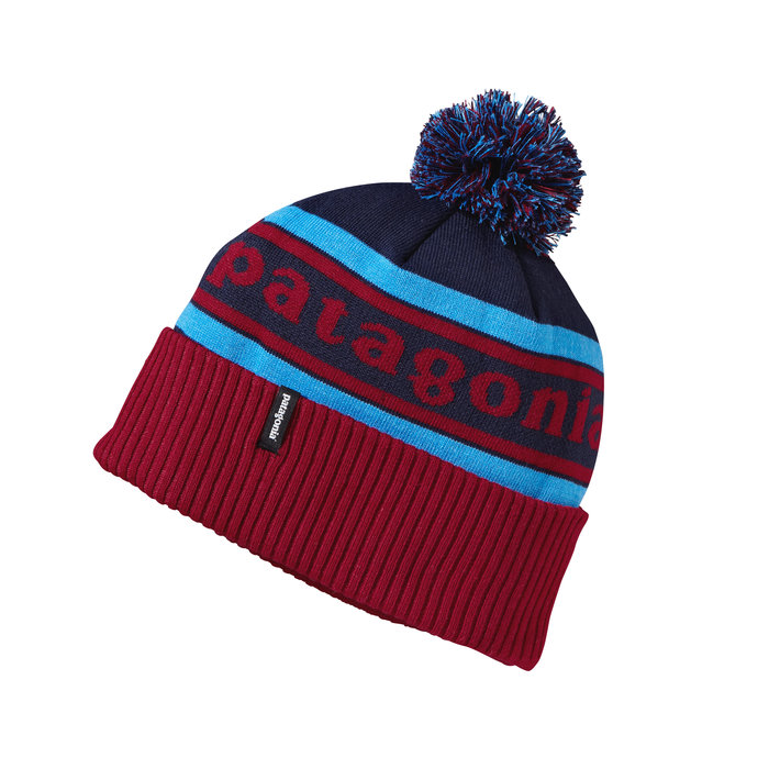 Patagonia Kid's Powder Town Beanie: $35 A heads up: retro-styled hats like the Powder Town Beanie are showing up at bus stops and lift lines - wherever cold, gusting flurries prevail. We love that kids are actually keeping their hats on, and kids love the fun styles printed on the beanie's itch-free recycled polyester/spandex knit blend. The hat won't lose shape or shrink, even in the dryer. Three-inch rib-knit cuff with pom-pom add a flourish of style when it's bleak outside.