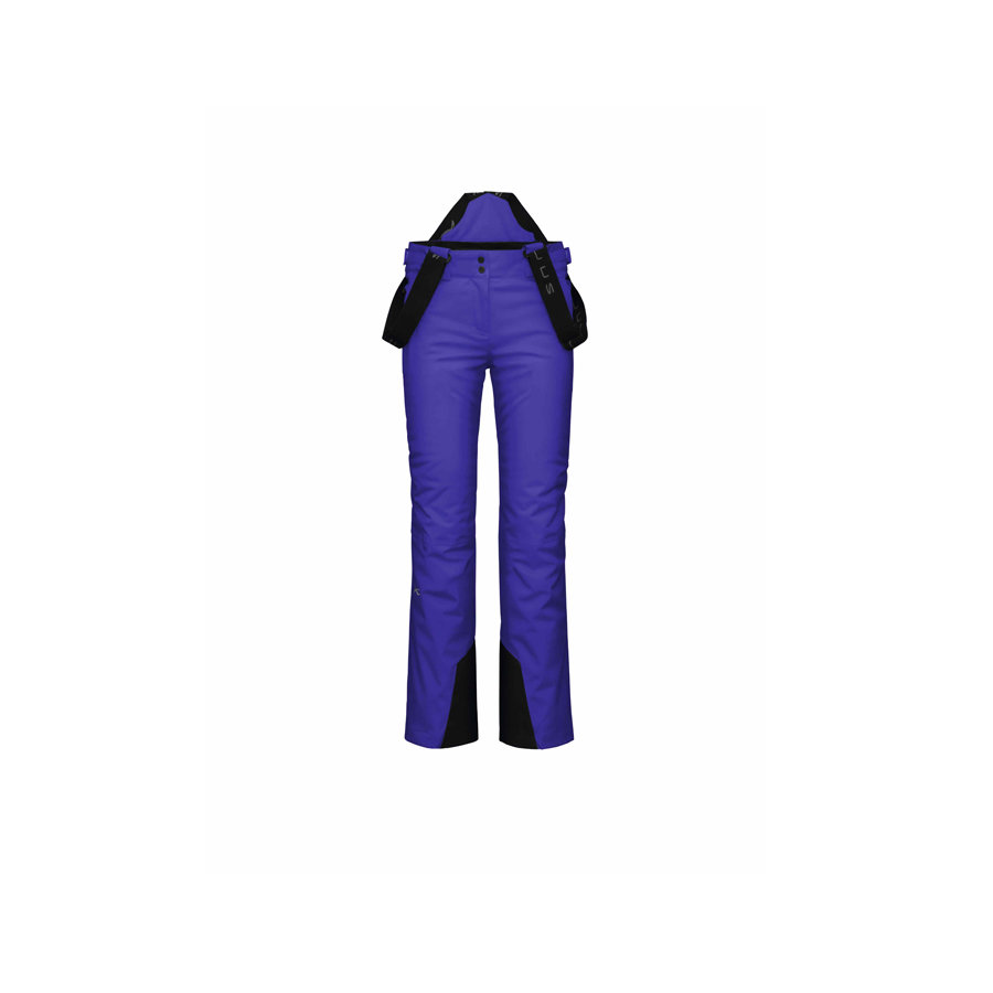 Kjus Girls Silica Pant: $199 The Silica pant is a slimmer fitting option complete with front pockets, articulated knees and removable suspenders. Multiple colorway options and Kjus membrane insulation will keep your little skier both stylish and warm.