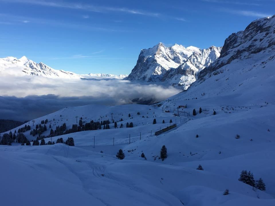 Tolles Bild aus Grindelwald am 3.1.2016 - ©Facebook Grindelwald