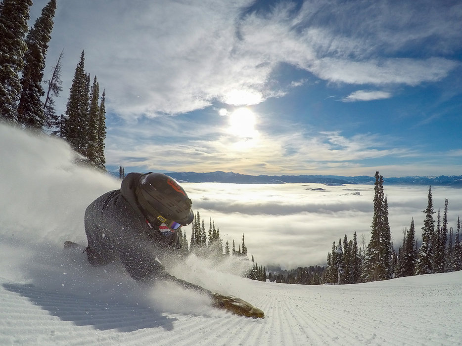 A sunny break leading up to MLK weekend at Jackson Hole Mountain Resort. - ©Jackson Hole Mountain Resort