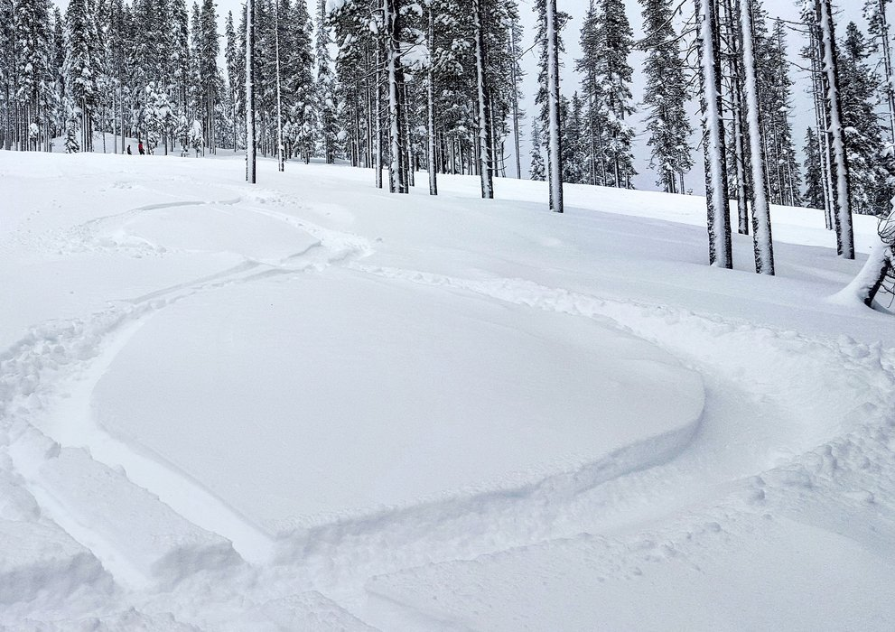 Lookout Pass started MLK 2016 weekend with fresh powder tracks. - ©Lookout Pass