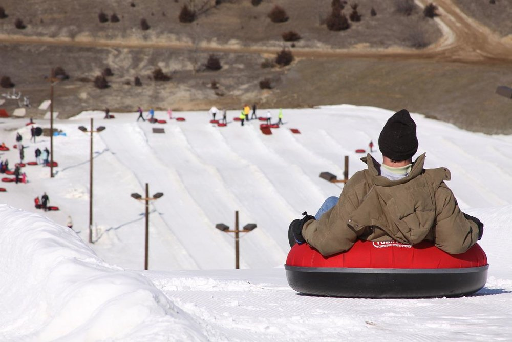 Tubing at Wilmot Mountain - ©Wilmot Mountain