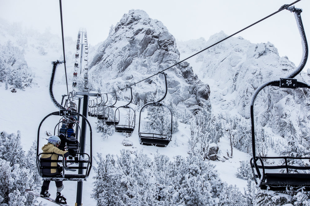 Back to almost normal after four tough snow years at Mammoth Mountain. - ©Liam Doran