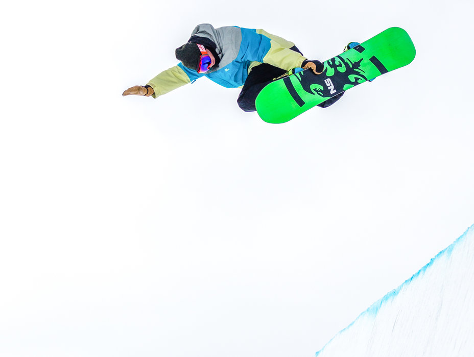 Nate Sheehan hits opening days of the superpipe at Sun Valley Resort. - ©Sun Valley Resort