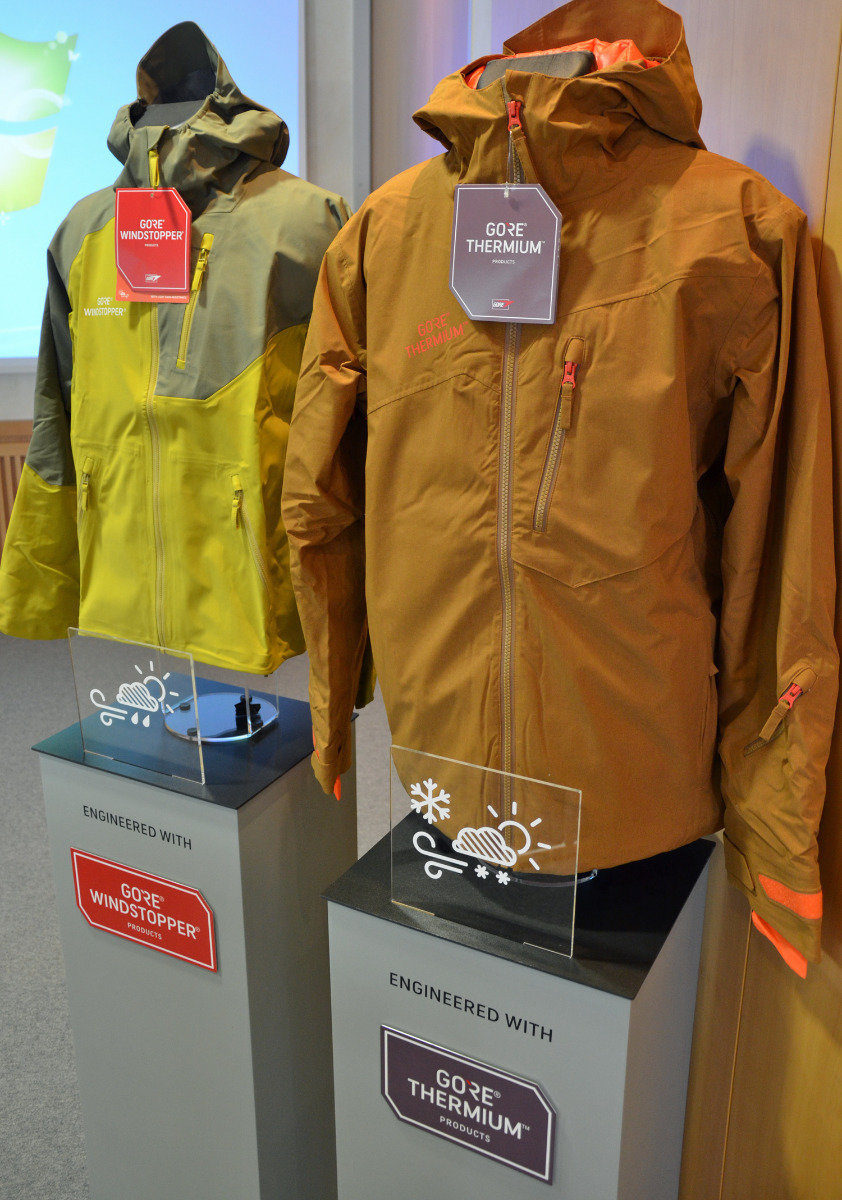 Gore at ISPO 2016 - ©Skiinfo