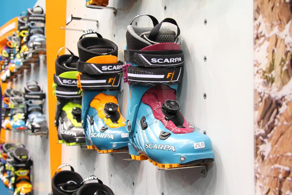 De nieuwe F1 van Scarpa - ©Skiinfo