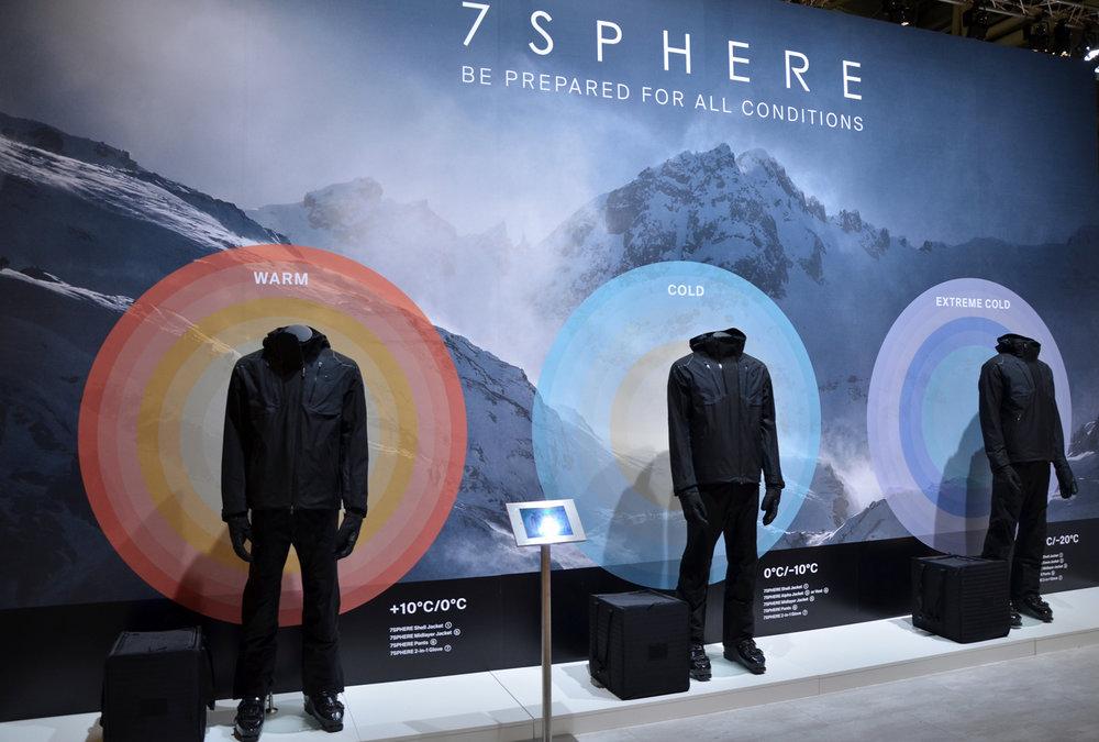 Kjus 7 Sphere: 7 Produkten als set voor alle weersomstandigheden. - ©Skiifno