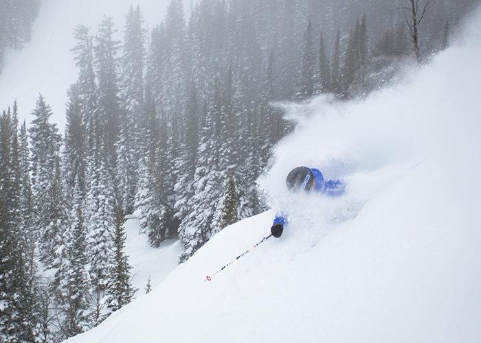 The snow is no joke at Jackson Hole this season. - ©Jackson Hole Mountain Resort