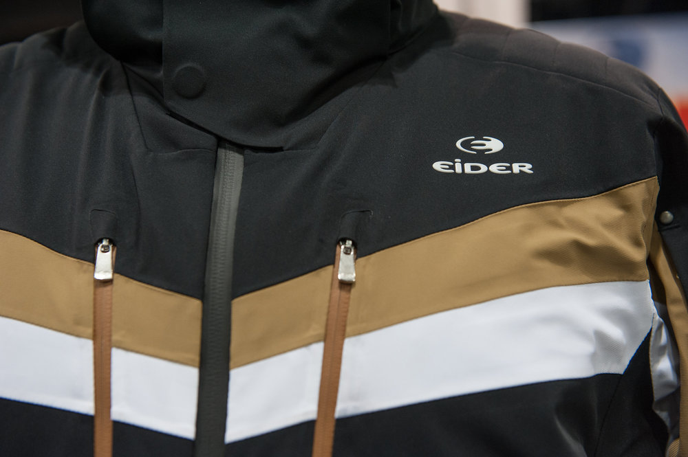 Eider goes higher end without leaving its down-to-Earth sensibility with the Altitude line and this Park City jacket that features moto-inspired padding. - ©Ashleigh Miller Photography