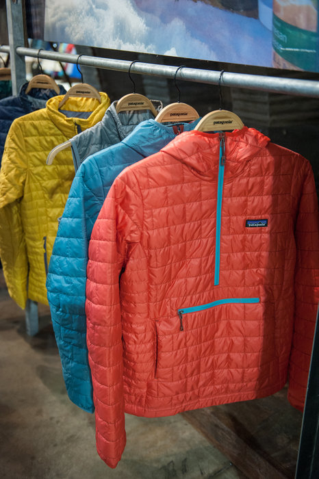 Next season's Patagonia Nano Puff is stuffed with PrimaLoft Gold Insulation Eco, a 55% post consumer recycled insulation for the brand's greenest Nano yet. - ©Ashleigh Miller Photography