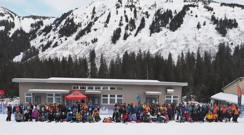 Last timezone to the party was Alaska where Eaglecrest had a good showing of first-timers. - ©Eaglecrest Ski Area