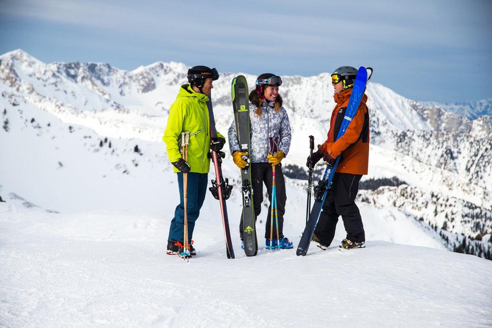 The takeaway from Ski Test 2016? Next season's skis will blow your mind. - ©Liam Doran