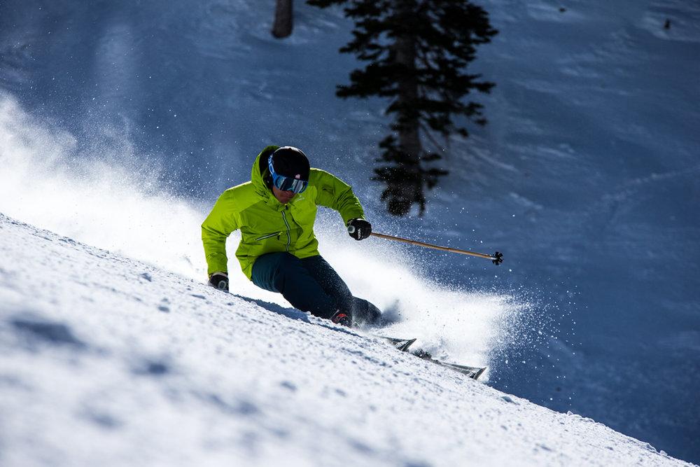Snowbird is a Ski Test paradise. - ©Liam Doran