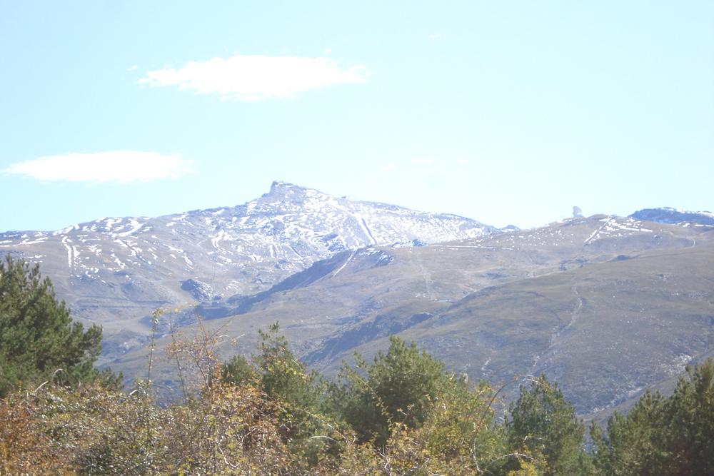 The mountains of Sierra Nevada, Granada, Spain in October.