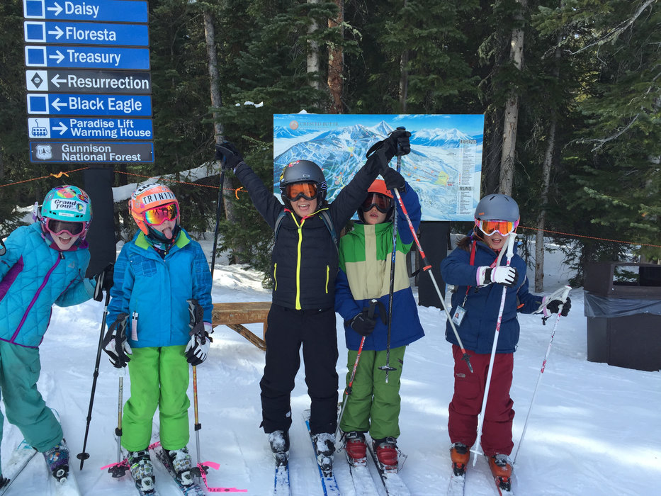 Kids get crazy at Crested Butte, a stop on The Grand Tour. - ©Krista Crabtree